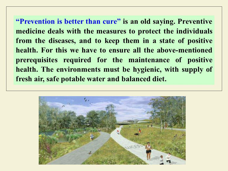 Prevention is better than cure is an old saying