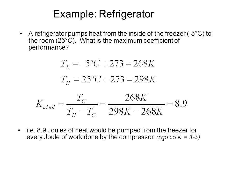 Example: Refrigerator