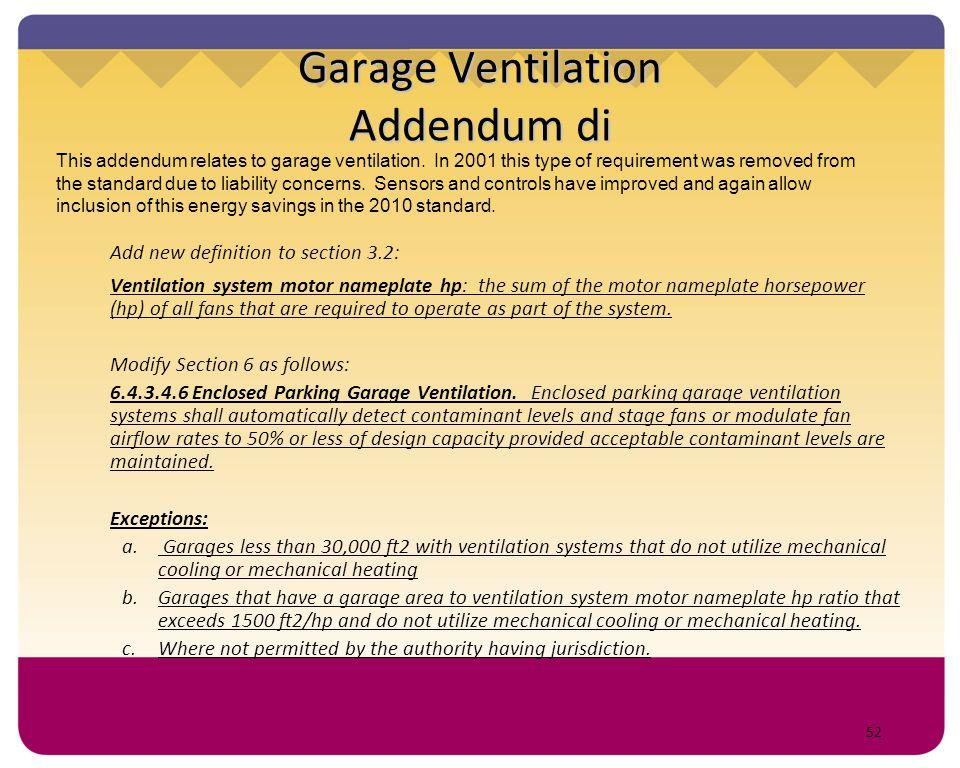 Garage Ventilation Addendum di
