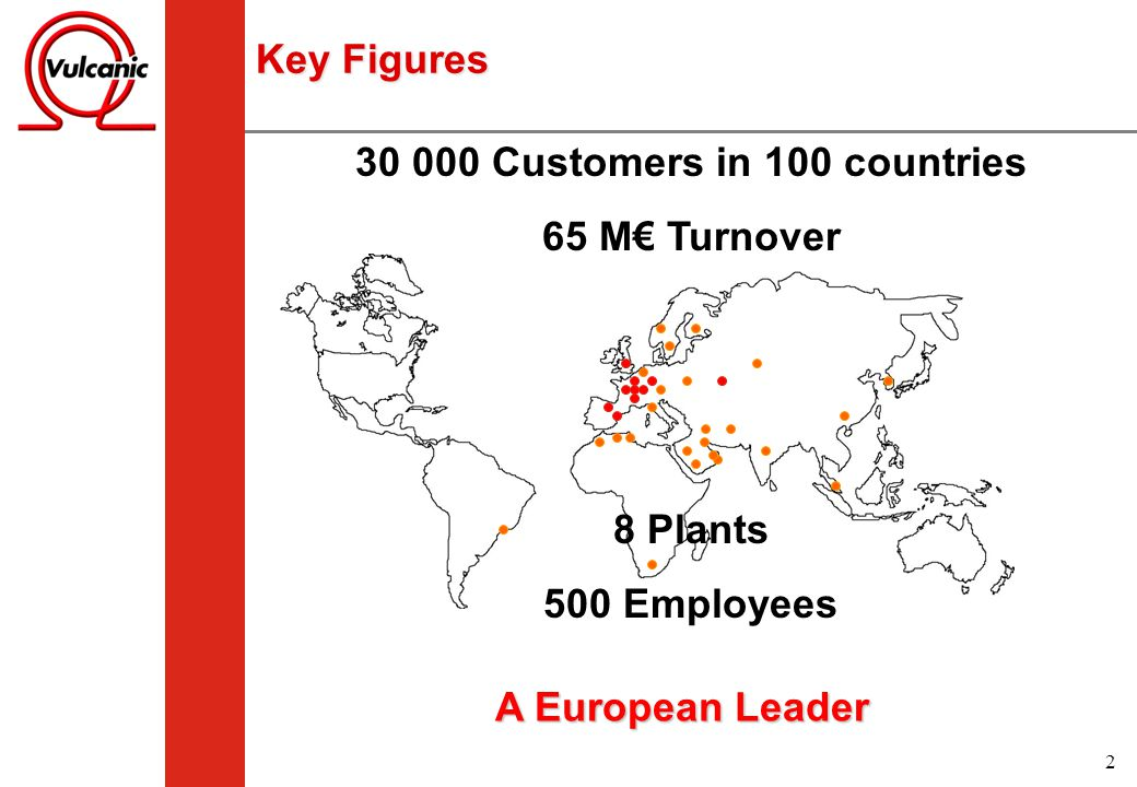 30 000 Customers in 100 countries