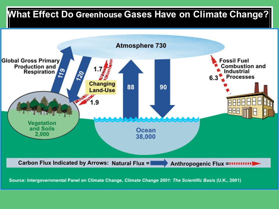 What Effect Do Greenhouse Gases Have on Climate Change