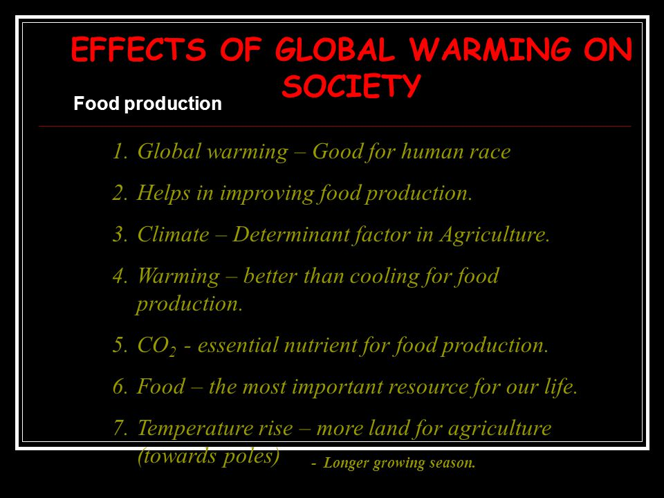 impacts of global warming Does global warming mean it's warming everywhere adapted from materials provided by global climate change impacts in the united states lesson plans.