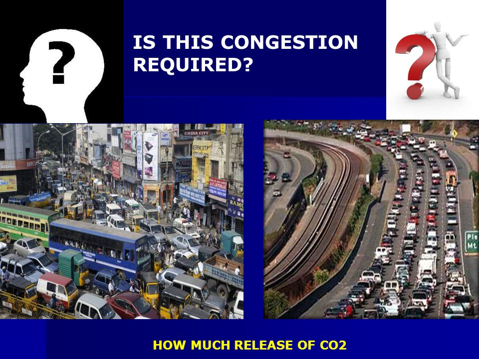 IS THIS CONGESTION REQUIRED
