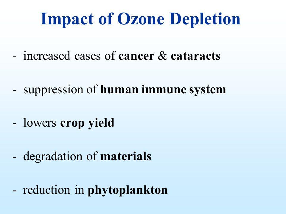 Impact of Ozone Depletion