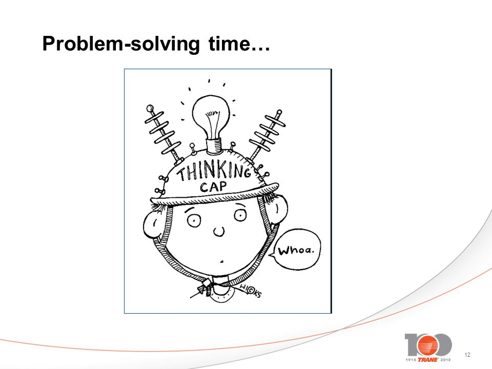 Problem-solving time…