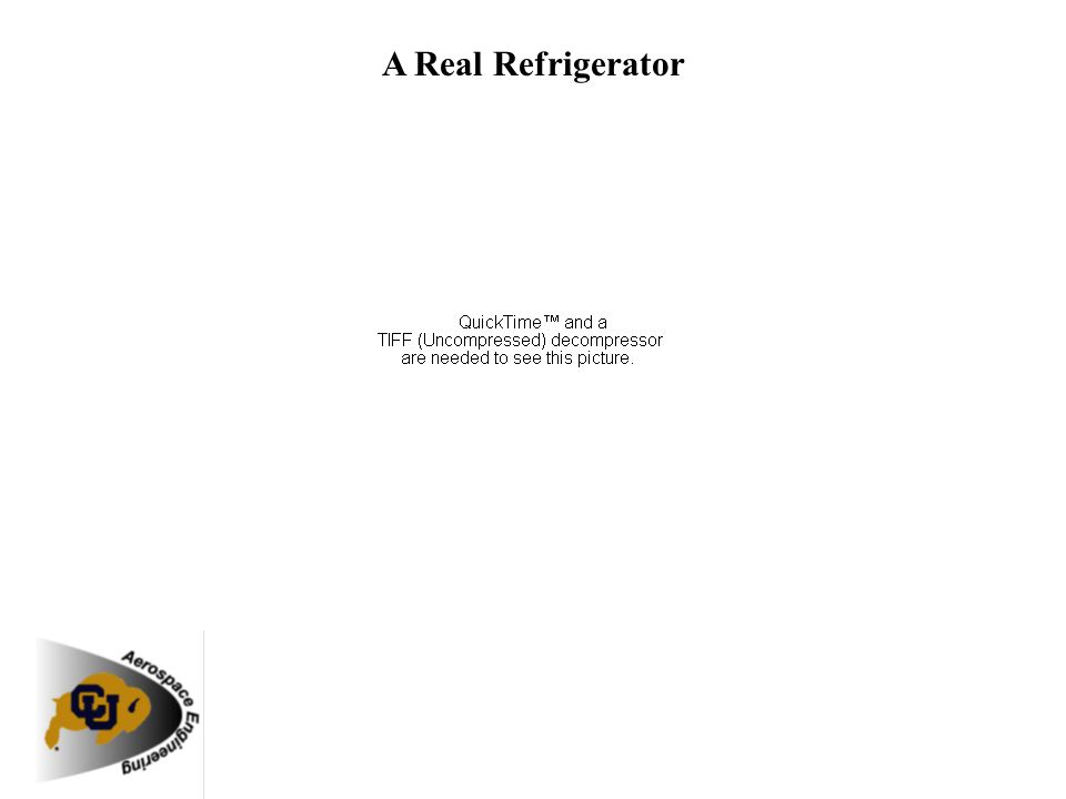 A Real Refrigerator