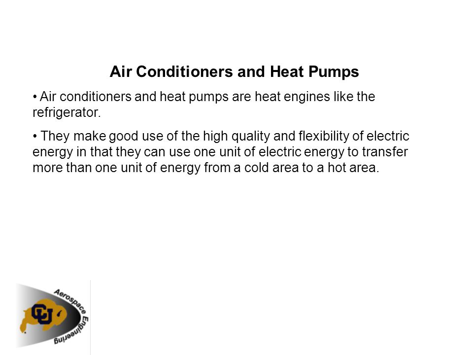 Air Conditioners and Heat Pumps