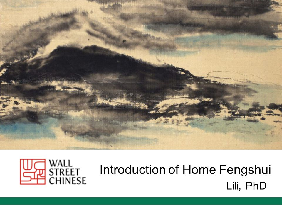 Introduction of Home Fengshui