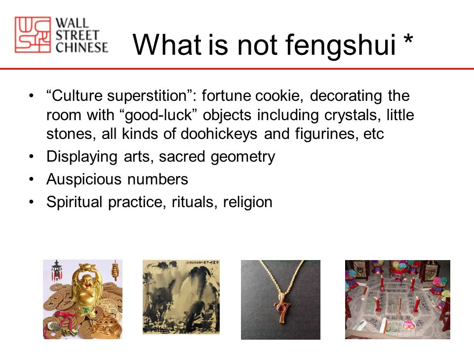 What is not fengshui *