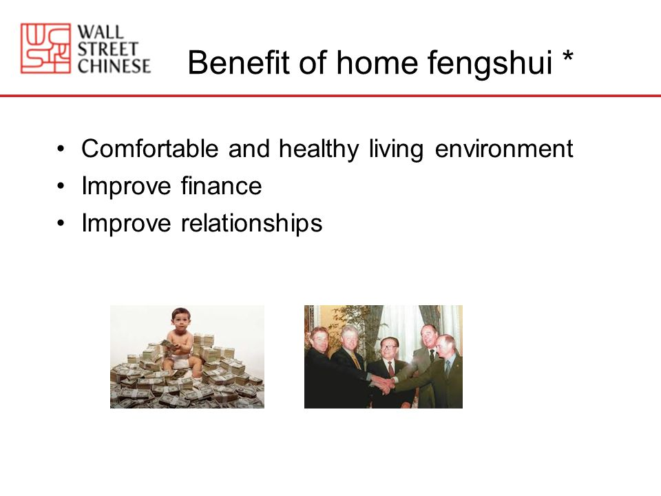 Benefit of home fengshui *
