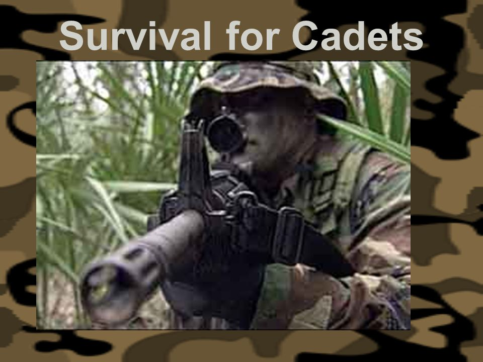 Survival for Cadets