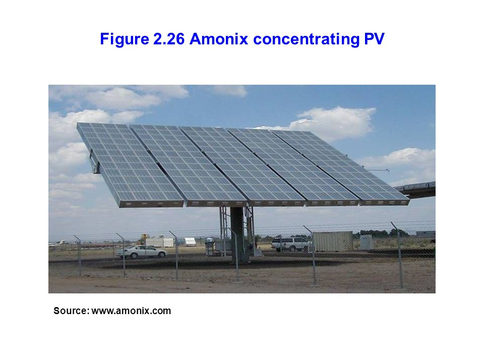 Figure 2.26 Amonix concentrating PV