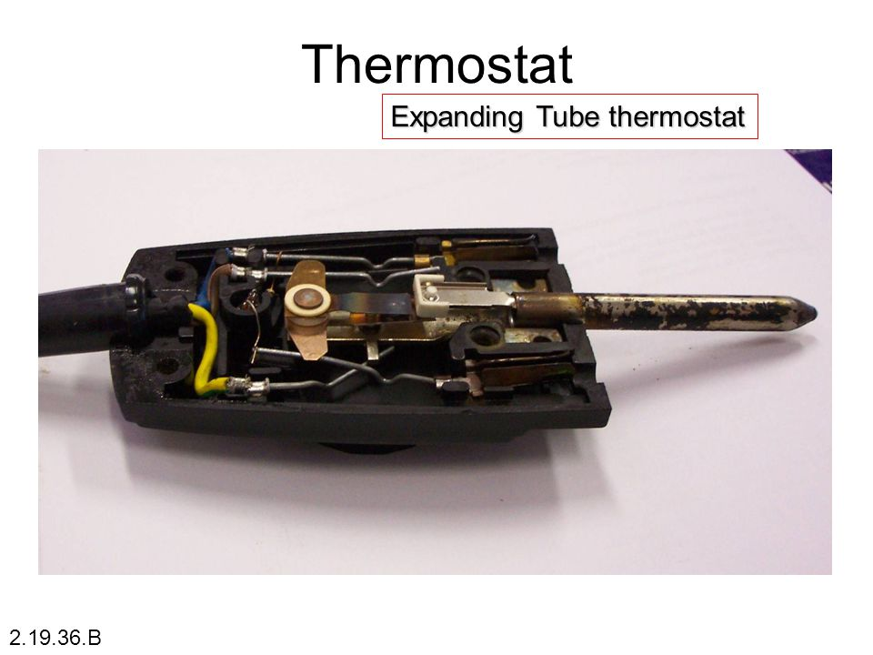 Thermostat Expanding Tube thermostat 2.19.36.B