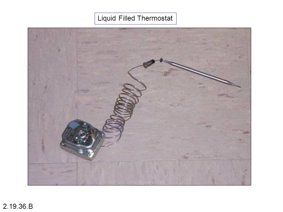 Liquid Filled Thermostat