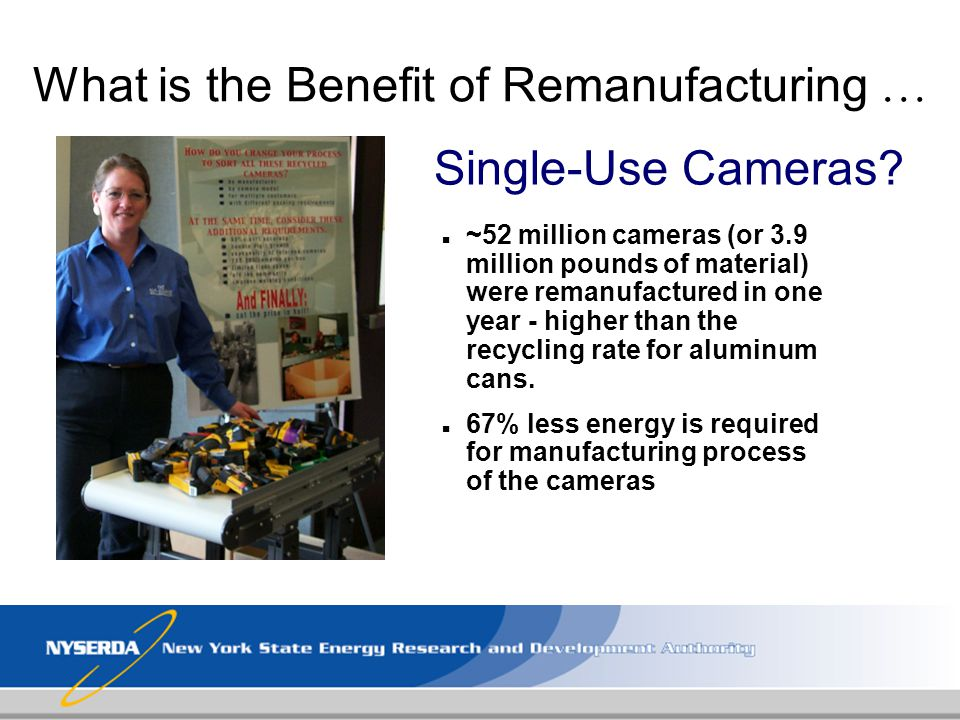 What is the Benefit of Remanufacturing …