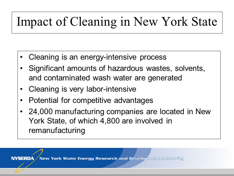 Impact of Cleaning in New York State