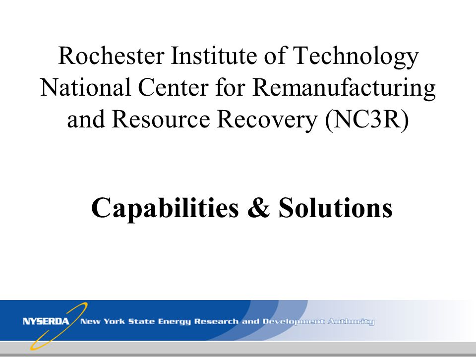 Capabilities & Solutions