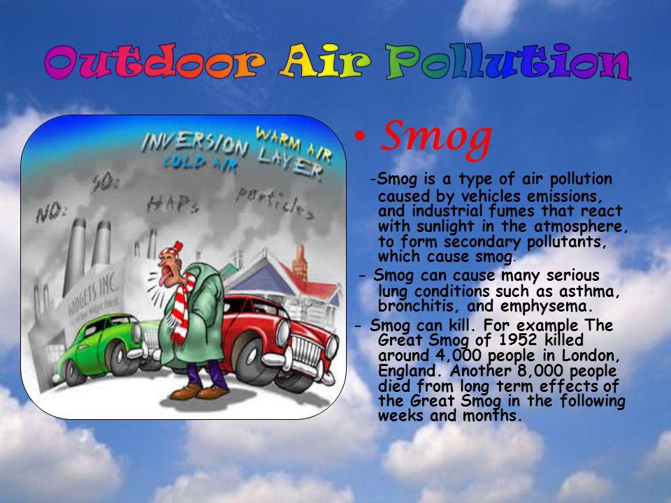 Outdoor Air Pollution Smog