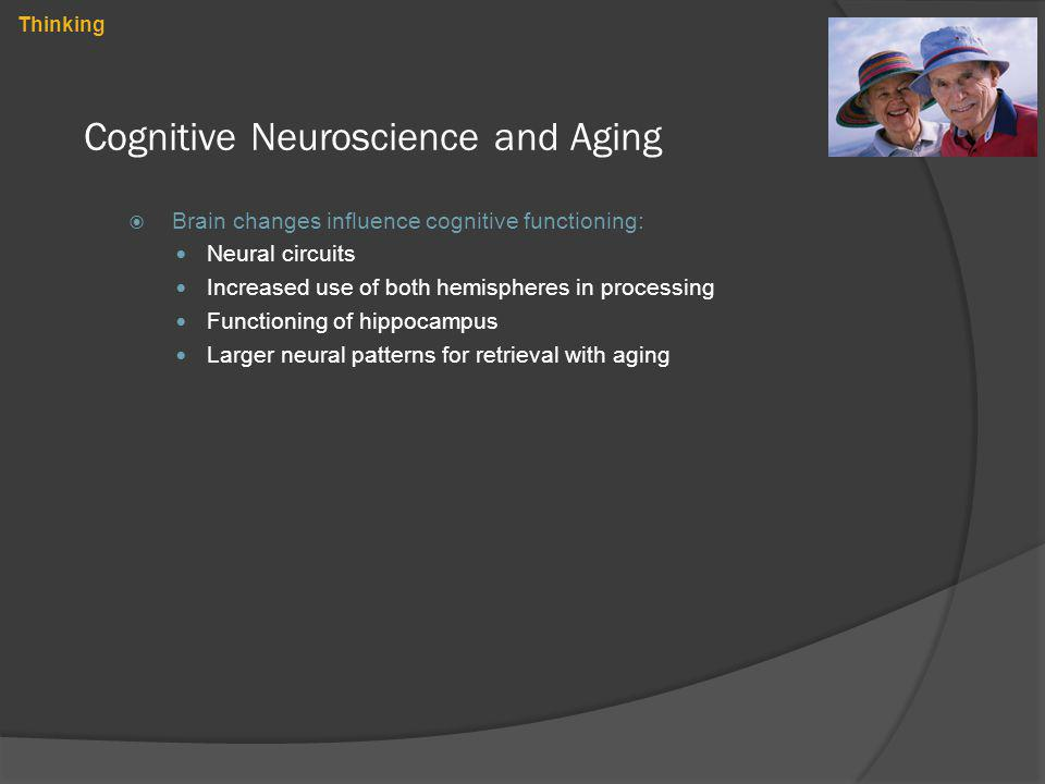 Cognitive Neuroscience and Aging