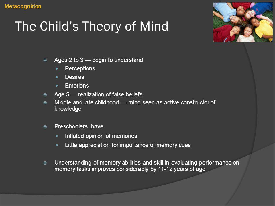 The Child's Theory of Mind