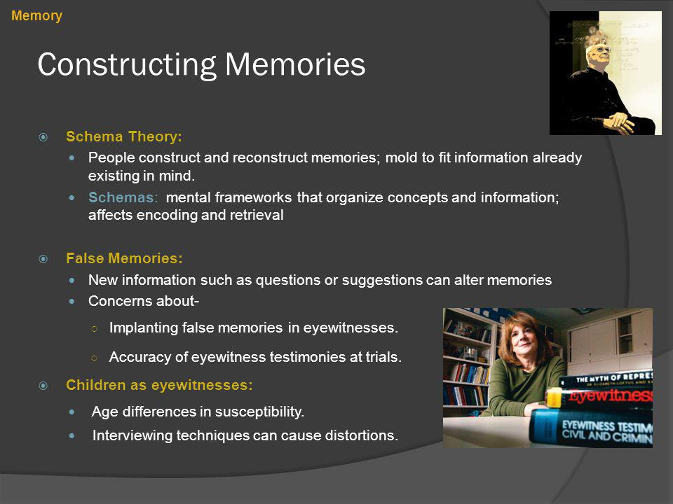 Constructing Memories