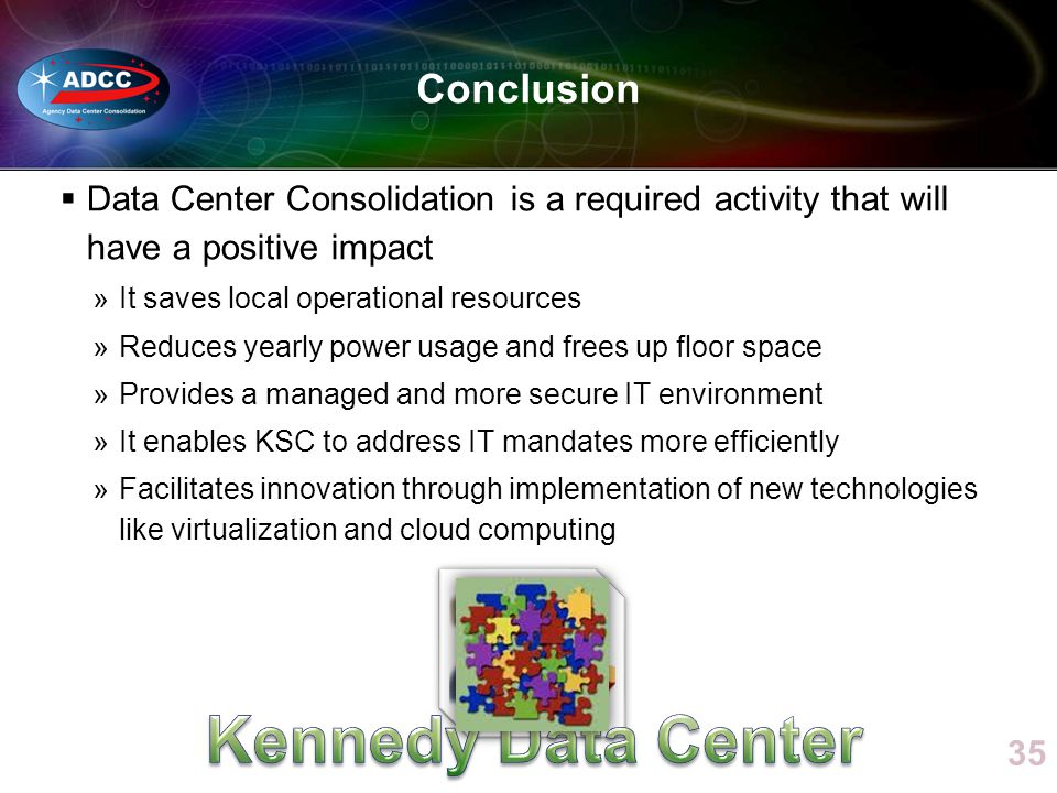 Kennedy Data Center Conclusion