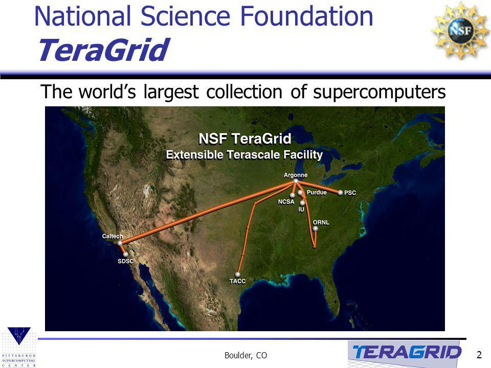 National Science Foundation TeraGrid