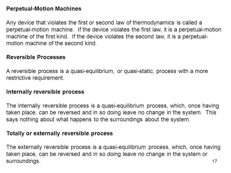 Perpetual-Motion Machines