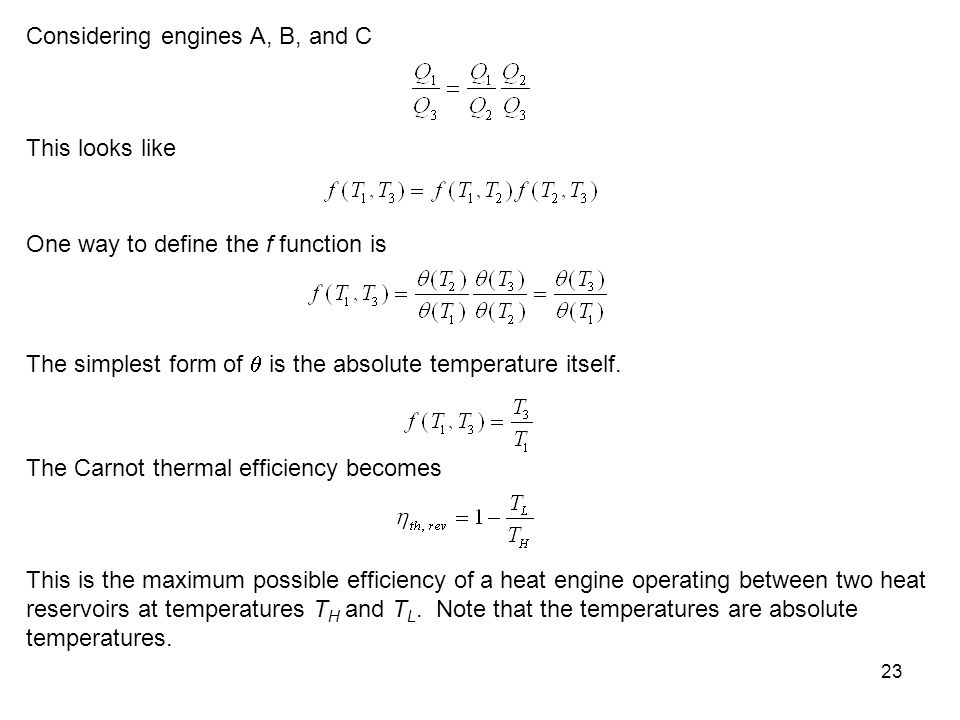 Considering engines A, B, and C