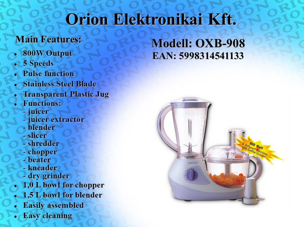 Orion Elektronikai Kft.