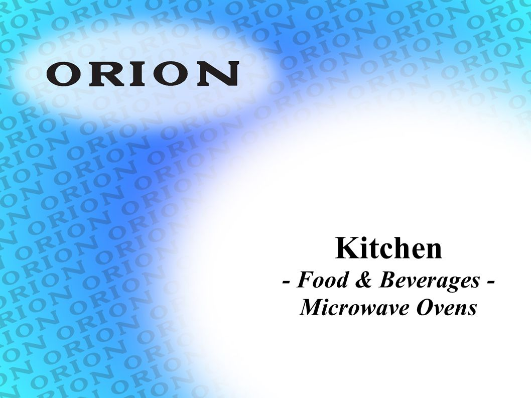 Kitchen - Food & Beverages - Microwave Ovens