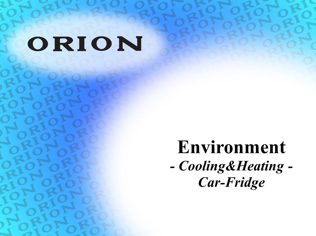 Environment - Cooling&Heating - Car-Fridge