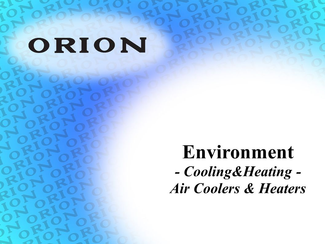 Environment - Cooling&Heating - Air Coolers & Heaters