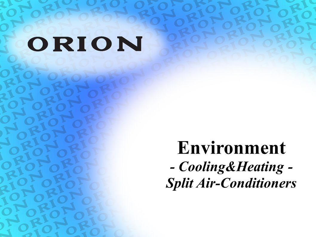 Split Air-Conditioners