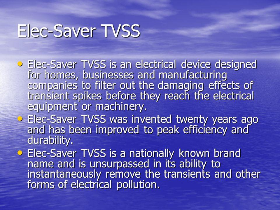 Elec-Saver TVSS