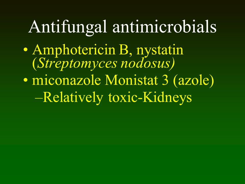 Antifungal antimicrobials