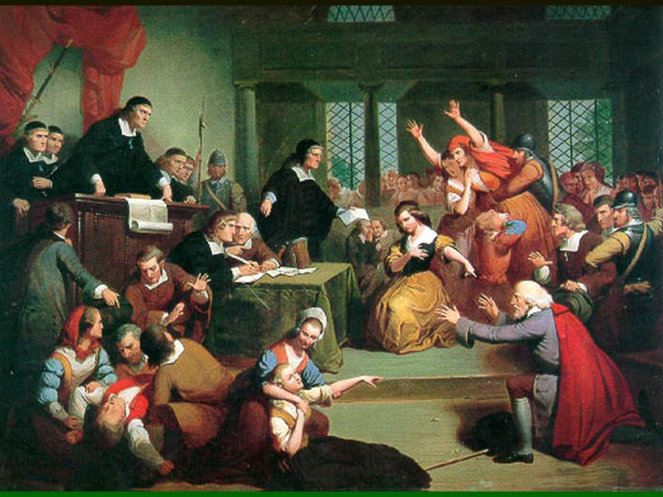 The Trial of George Jacobs, August 5, 1692. By T. H. Matteson, 1855