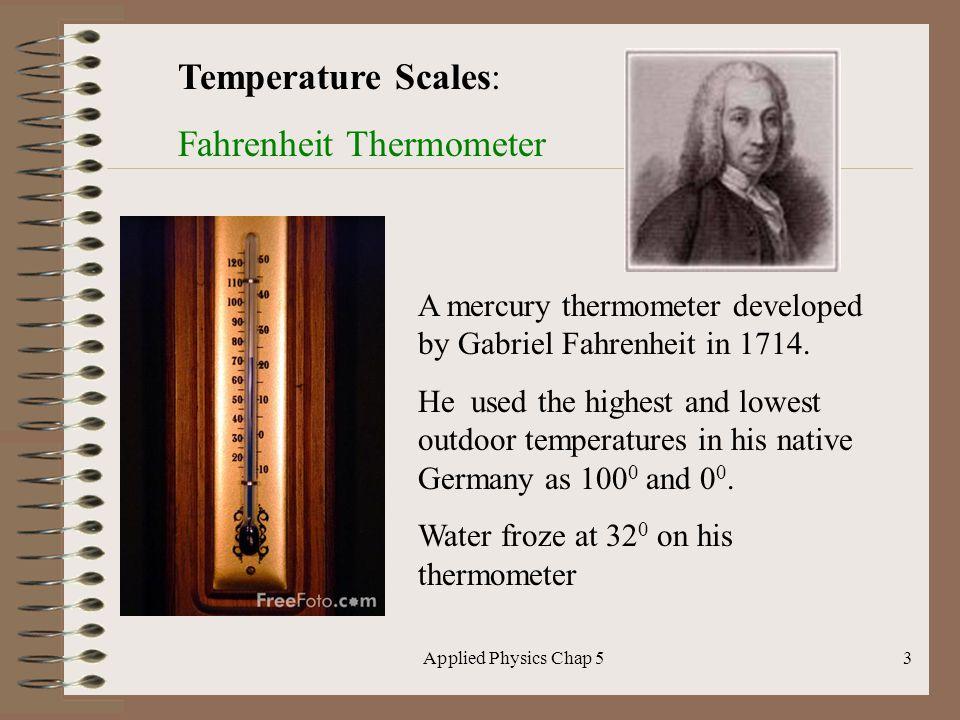 Fahrenheit Thermometer