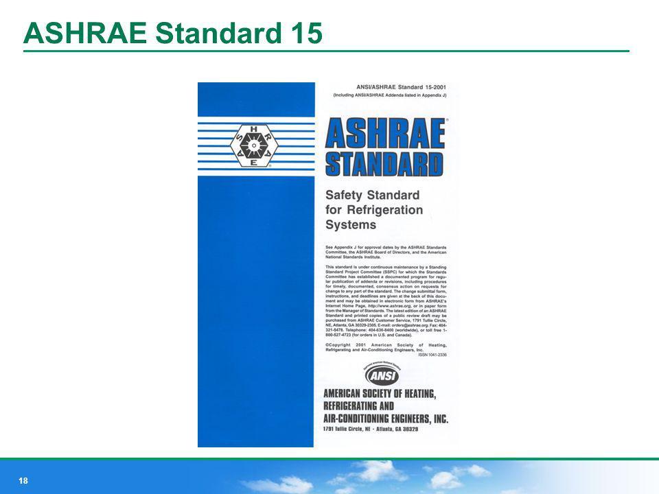 ASHRAE Standard 15