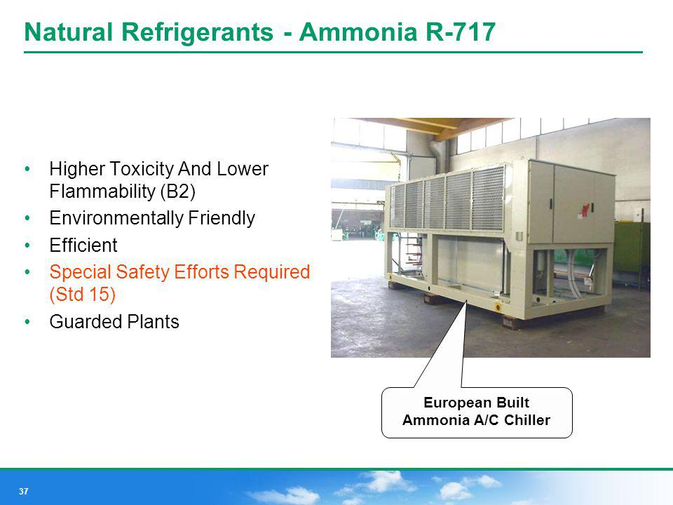 Natural Refrigerants - Ammonia R-717