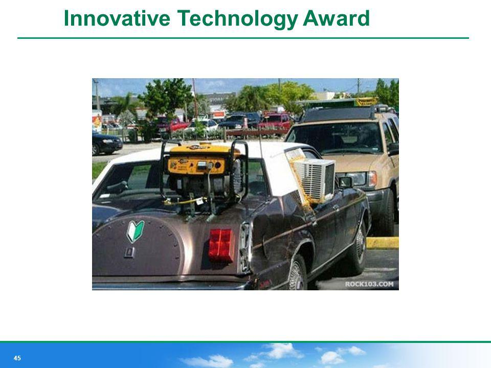 Innovative Technology Award