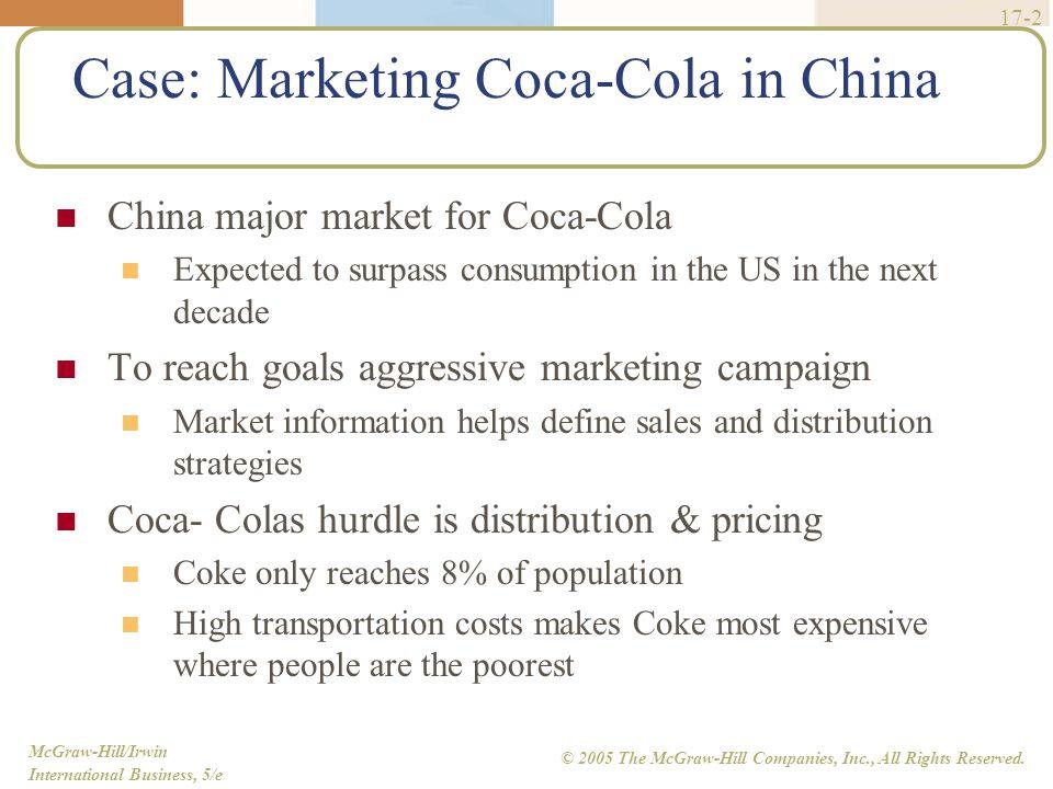 Case: Marketing Coca-Cola in China