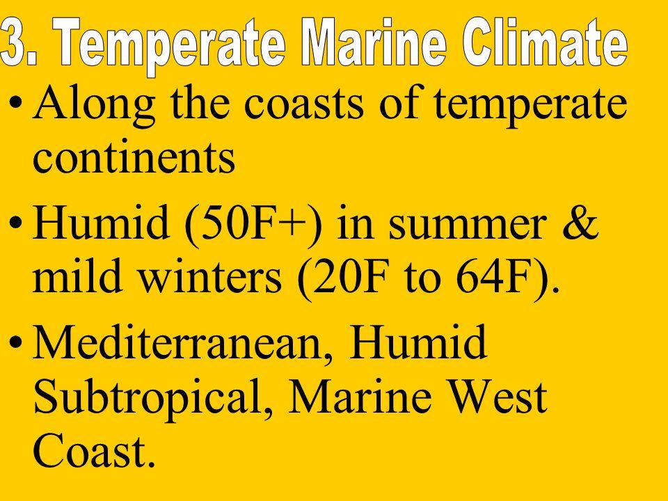 3. Temperate Marine Climate