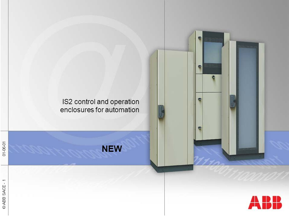 IS2 control and operation enclosures for automation