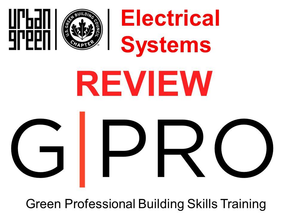 Green Professional Building Skills Training