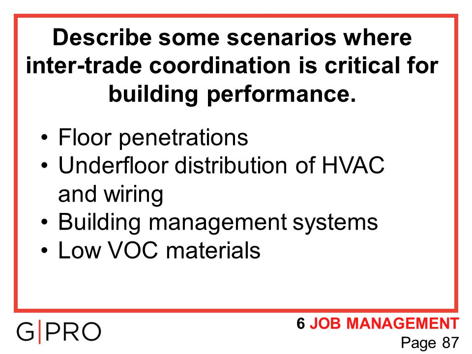 Underfloor distribution of HVAC and wiring Building management systems
