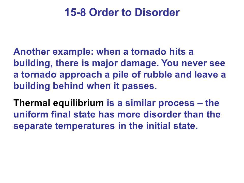 15-8 Order to Disorder