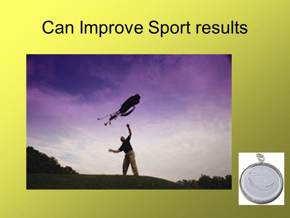 Can Improve Sport results