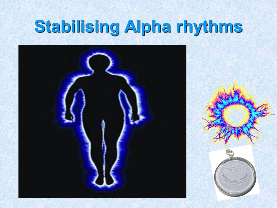 Stabilising Alpha rhythms