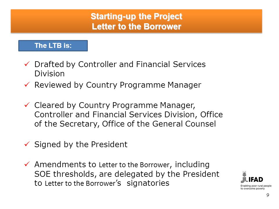 Starting-up the Project Designated Account - Initial Deposit (1)